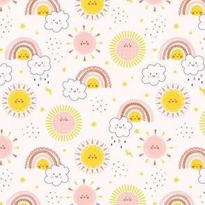 Sunshine and Rainbows