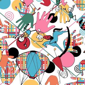 Kolorful Kids Nugget Wallpaper