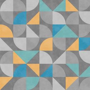 Mid Century Geometrics
