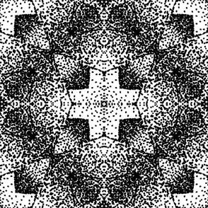 Pointillism Cross 82