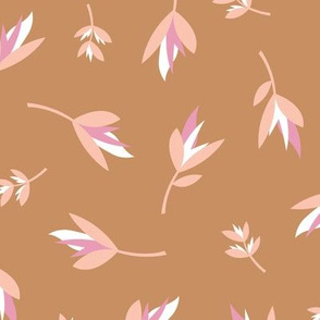 Birds of paradise flowers tropical boho summer garden hawaii island bikini vibes nursery rust copper pink cinnamon neutral