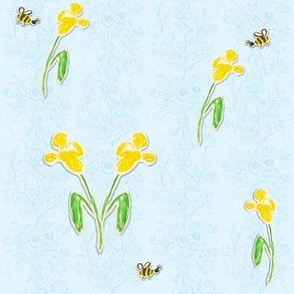 Happy Bees' Tea Party