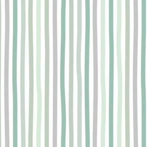 Irregular hand drawn stripes boho summer breton marine Parisian style minimal basic vertical sage green gray spring palette