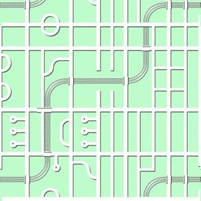 Papercut Map
