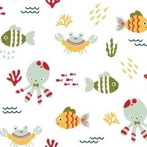Sea Creatures - Garden
