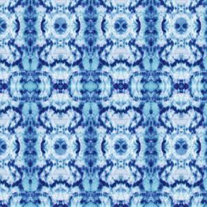 Blue Mini Tie Dye