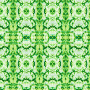 Mini Green Tie Dye