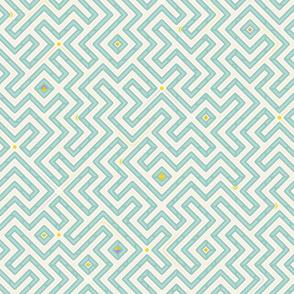 Robins-egg Play Maze