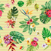 Tropical_flowers___leaves_stripes_yellow