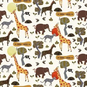 Safari Tales - Savannah