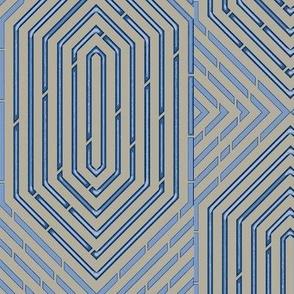 Labyrinth Geometric in Neutral Zone