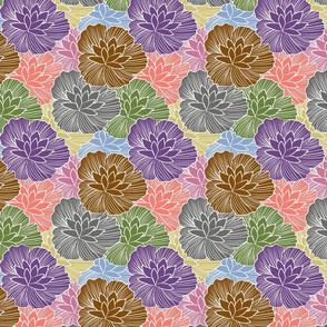 Blossom Lineart Waterlily FairyLand FallTime