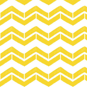 Prism Collection Yellow Chevron