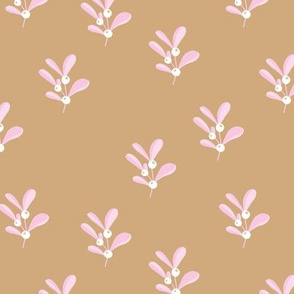 Little summer olive branch boho flower garden minimal Scandinavian design nursery cinnamon pink girls