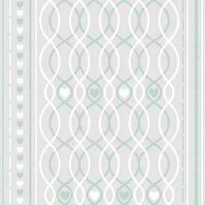 hearts straight lines green cottage and farmhouse