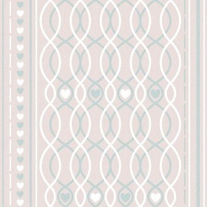 hearts straight lines pink cottage and farmhouse