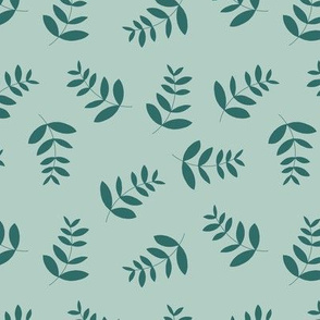 Boho island vibes tropical palm leaves minimal garden print nursery sage green forest