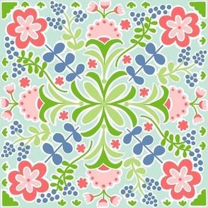 Cutout Floral