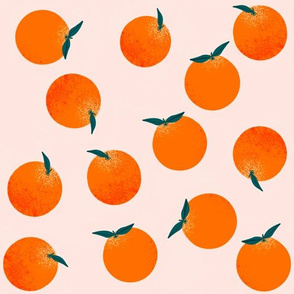 Happy little oranges