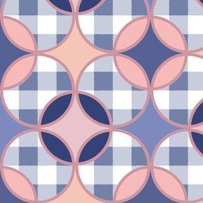 Preppy Pastel Circles
