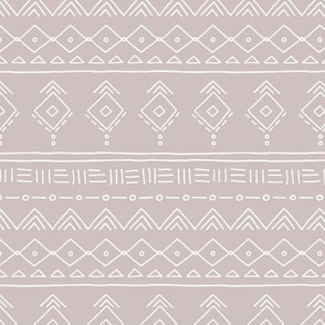 Minimal boho mudcloth bohemian ethnic abstract indian summer aztec design nursery gender neutral beige SMALL