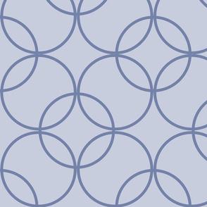 Circles Dark Blue