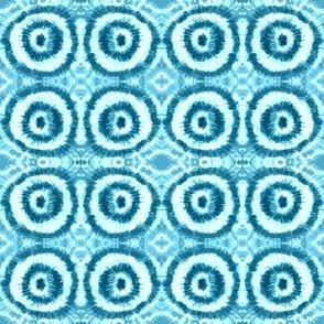 Tie-Dye Blue Water Ripples