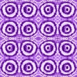 Tie-Dye Purple Ripples