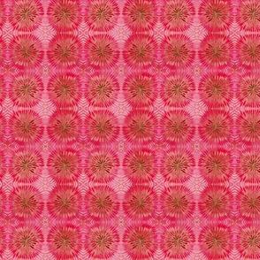 Pink and Orange Tie-Dye