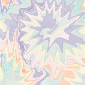 Unicorn Dreams: Pastel Abstract Tie Dye