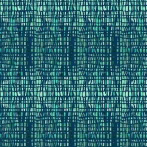 Green Tie-Dye Lines
