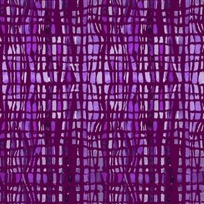 Purple Tie-Dye Lines