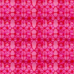 Tie-Dye Geometric Stars