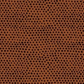 Polka Spots in Black and Brown