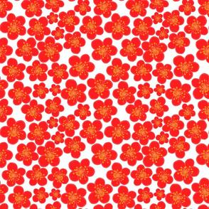Cherry blossom season-red