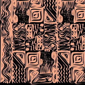 African tribal ornament 7