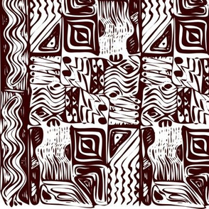 African tribal ornament 10
