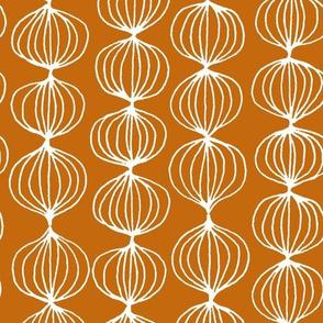 mod ogee - burnt orange