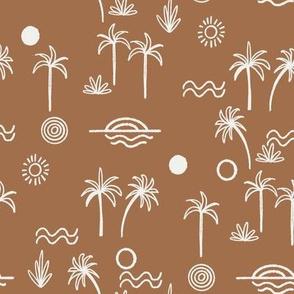 summer sun fabric  pecan sfx1336