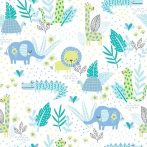 Jungle Fun blue