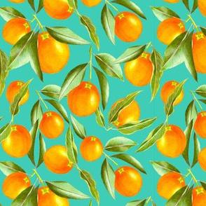 Motif orange