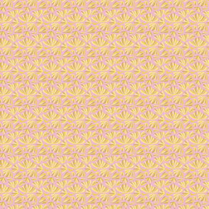 Tiny Pink Flowers Abstract Seamless Repeat Pattern