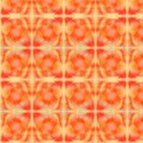 Tie Dye Orange