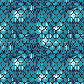 Tie Dye Inspired Moroccan Tile