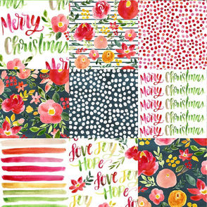 warm wishes christmas quilt