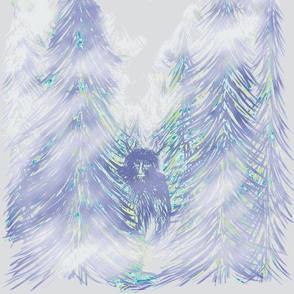 Bigfoot Shibori Blue - Large Scale