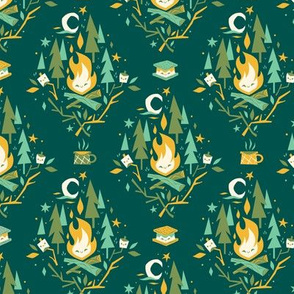 S'More Campfires (Evergreen - Large)