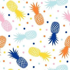 pineapples - summer - multi - LAD20