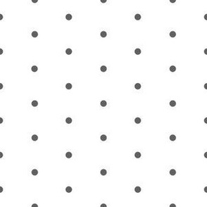Dots Large - Dark Grey