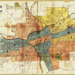 Dayton Ohio Map